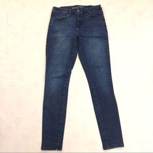 Universal Thread high/mid rise skinny jeans (tall)
